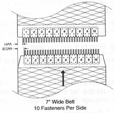 7inch Belt